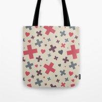 I Heart Patterns #002 Tote Bag