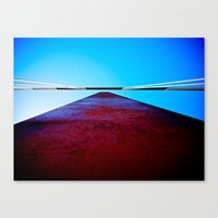 Golden Gate Dreaming Canvas Print