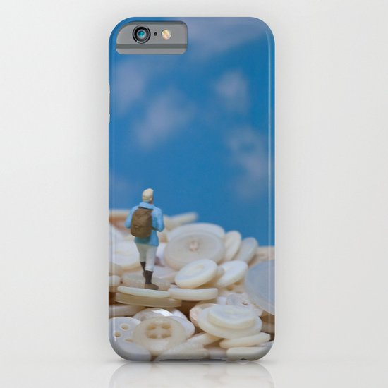 The Great Button Hike iPhone & iPod Case