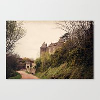Brancion - French Medieval Chateau Canvas Print