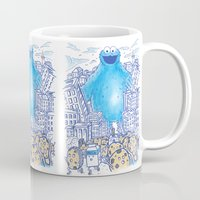Monster in the city Mug