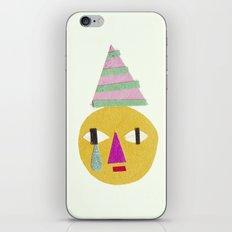 sad face iPhone & iPod Skin