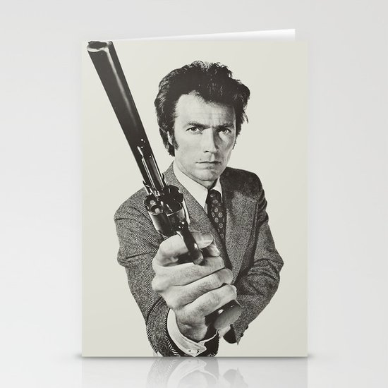 Dirty Harry Stationery Card