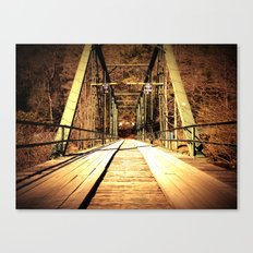 Old Shallowford Bridge Canvas Print