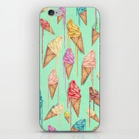 melted ice creams iPhone & iPod Skin