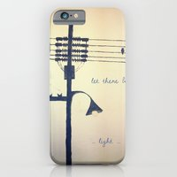 iPhone & iPod Case featuring Let there be light... by Eltina Giannopoulou