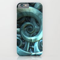 iPhone & iPod Case featuring Gone Spiral by Lyle Hatch