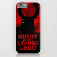 iPhone & iPod Case featuring Night of the Living LEGO by AWOwens