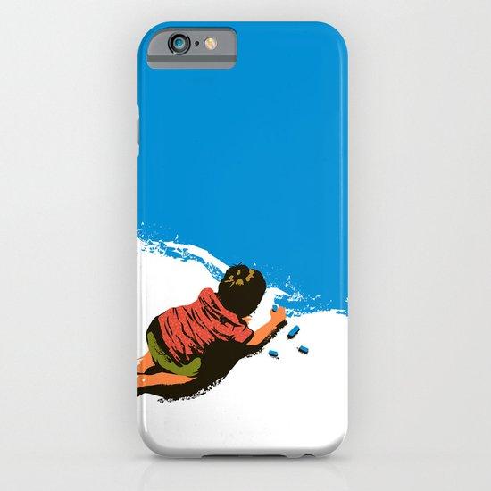 Color it blue iPhone & iPod Case
