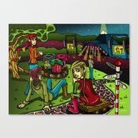 Glastonbury 2013 Canvas Print