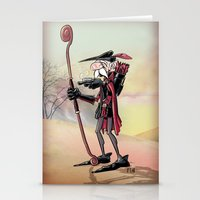 The Venerable Archer Stationery Cards