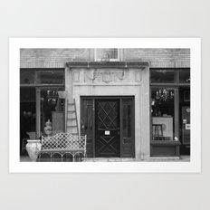 Antique Store Art Print