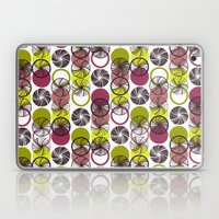 Black Border Abstract Circles Laptop & iPad Skin
