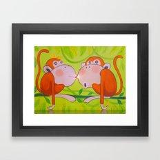 With Favorite Framed Art Print
