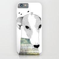 iPhone & iPod Case featuring Mr. Galgo Dog by missmalagata