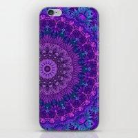 Harmony In Purple iPhone & iPod Skin