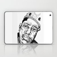 Biggie Smalls Stippling Laptop & iPad Skin