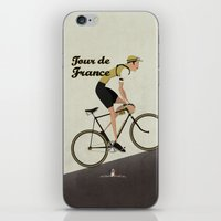 Tour De France iPhone & iPod Skin