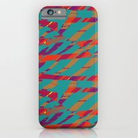 iPhone & iPod Case featuring TORN STRIPES by Wagner Campelo