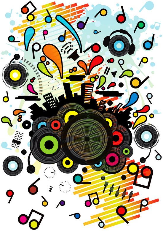 POP_MUSIC Art Print