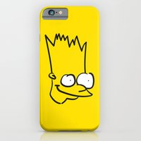 iPhone & iPod Case featuring Badly Drawn Bart by Fyza Hashim