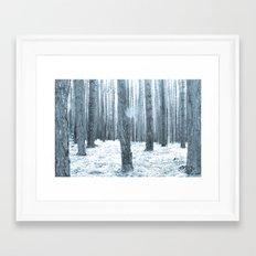 More Trees. Framed Art Print