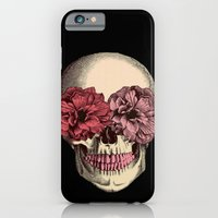 iPhone & iPod Case featuring Flower Eyes by Lilyana Reyes