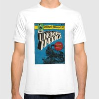 Unknown America Comics #… Mens Fitted Tee White SMALL