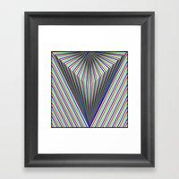 V Is For Vector Framed Art Print