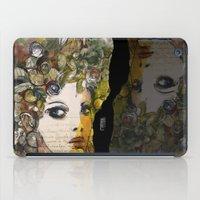 Fragment of a portrait iPad Case