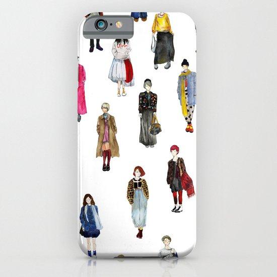 Japanese Street Snap iPhone & iPod Case