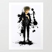 Blixa  Art Print