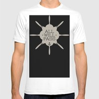 All Will Pass Mens Fitted Tee White SMALL