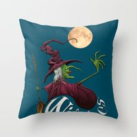 Witches Throw Pillow