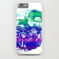 Monkeys in living Color iPhone 6 Slim Case