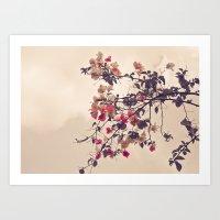 Dream Of Flowers Art Print