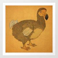 Dodo Art Print