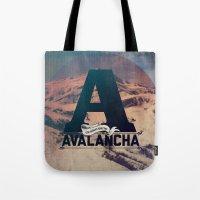 AVALANCHA Tote Bag
