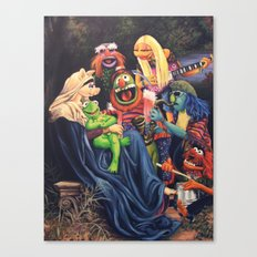 Song Of The Electric Mayhem Canvas Print