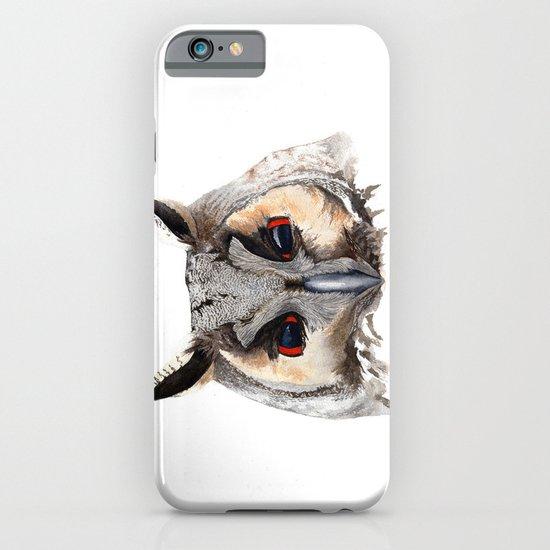 Long Eared Owl iPhone & iPod Case