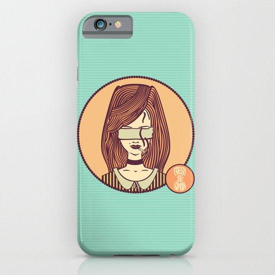 self-portrait (colored) iPhone & iPod Case