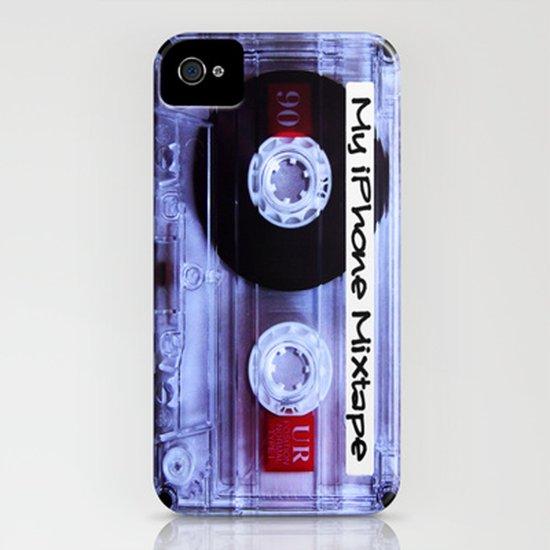 Iphone Mixtape Cassette Art Print