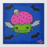 Creepcake Bat Canvas Print