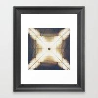 X Is Up Framed Art Print