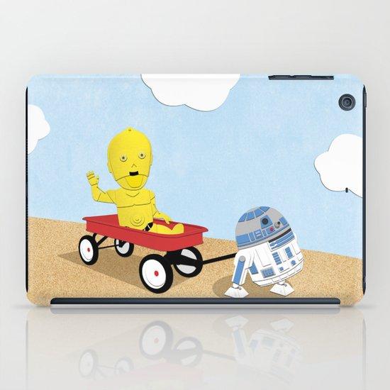 SW Kids - C3PO & R2D2 Red Wagon iPad Case