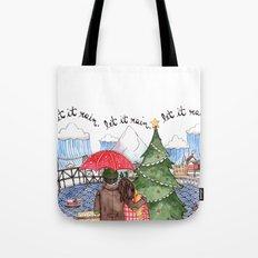 PNW Christmas Tote Bag