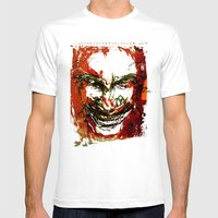 Aphex Twin Mens Fitted Tee White SMALL