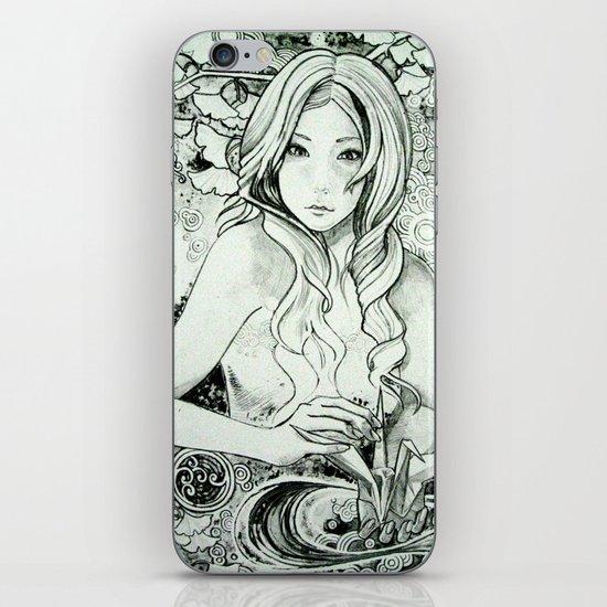 Paper Crane iPhone & iPod Skin