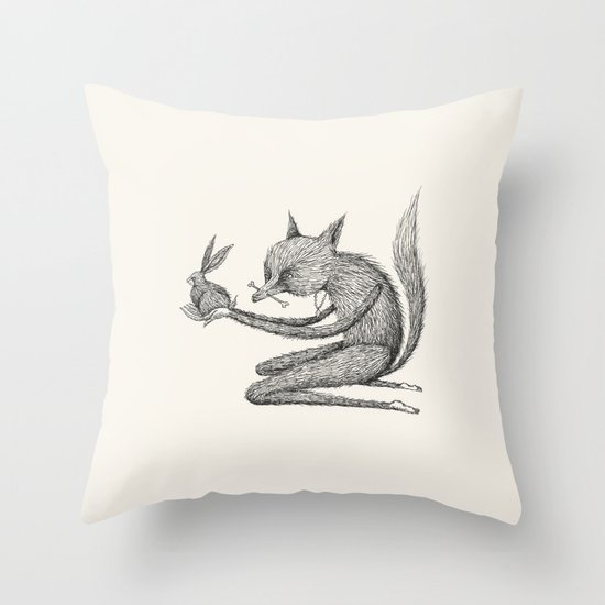 'Offering' (Simplified) Throw Pillow