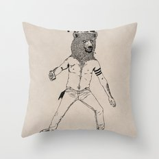 DERP!!! Throw Pillow